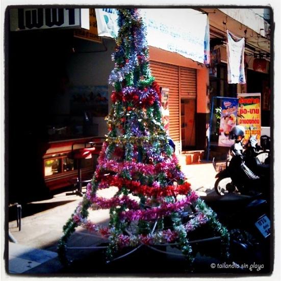 Árbol de Navidad al estilo tai