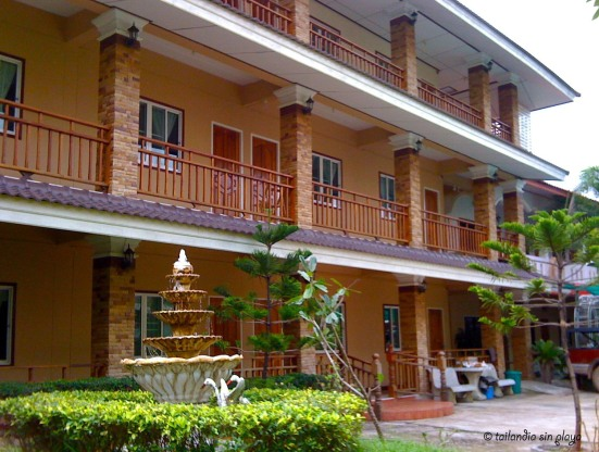 Patio interior - Phanu Guesthouse