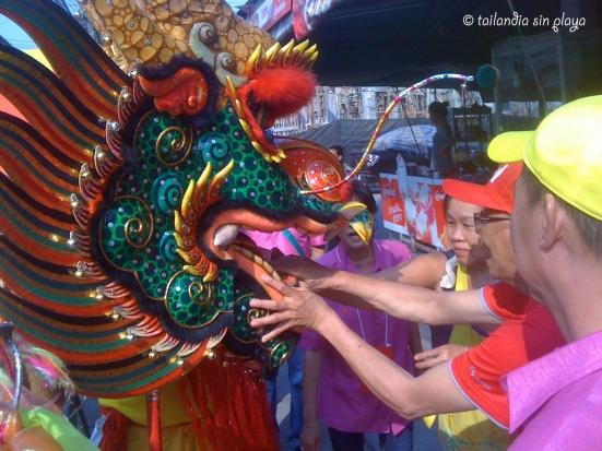 Donaciones al dragón