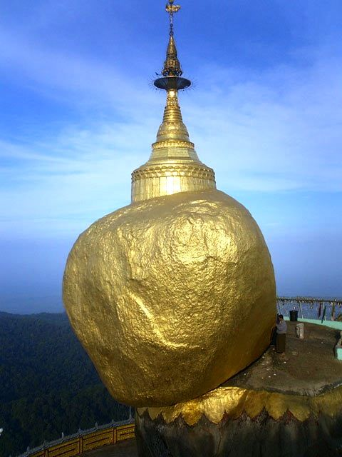 Golden Rock, Birmania