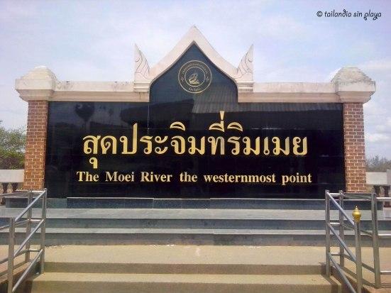 El punto más al oeste de Tailandia