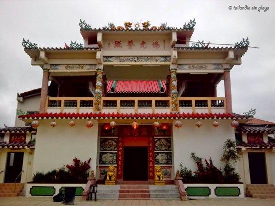Templo chino en Mukdahan