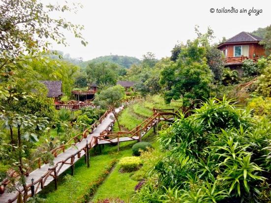 Mok Fah Sai, un resort en medio de la montaña