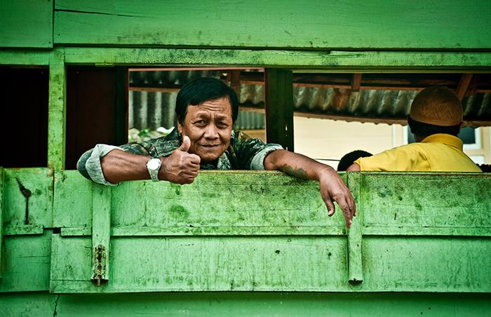 La magia de Bukitinggi es su gente