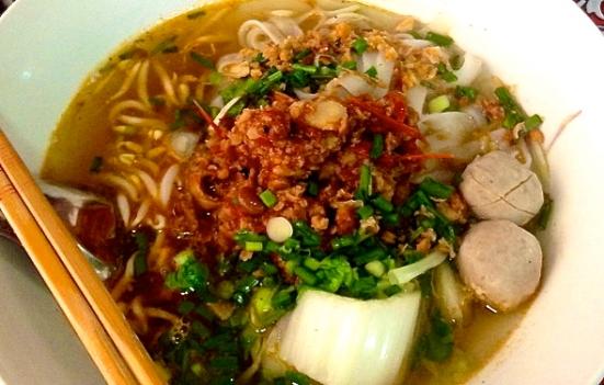 Una sopa de noodles muy tradicional