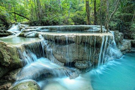 cascada erawan tailandia