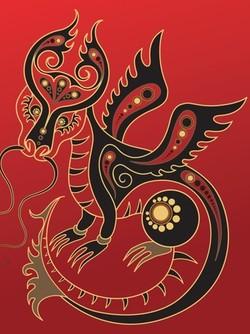 dragon año chino