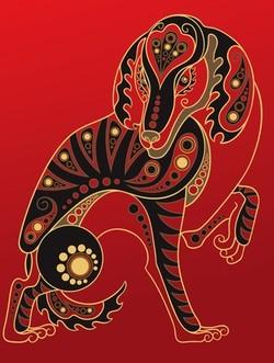 perro año chino