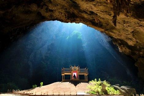 Cueva Phraya Nakhon en el Parque Nacional Khao Sam Roi Yot