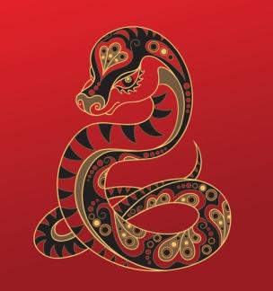 serpiente año chino