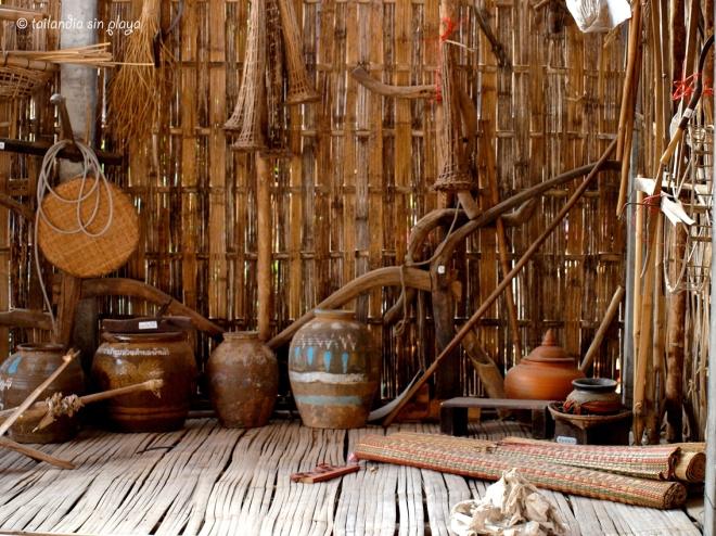 herramientas tradicionales de Isan