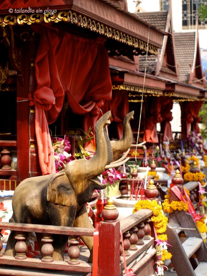 Casa de los espíritus khon kaen