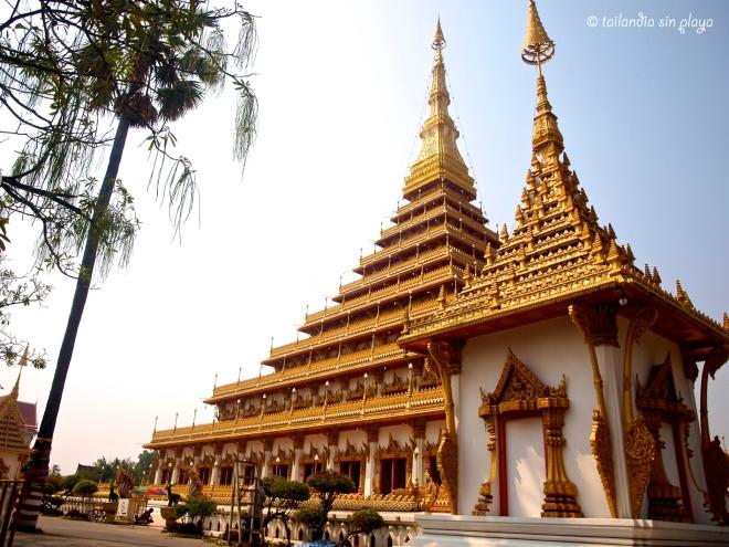 Templo mas famoso Khon Kaen