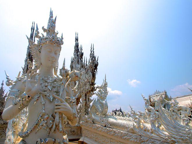 Puente Templo Blanco Chiang Rai