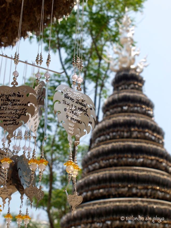 Pagoda templo blanco chiang rai