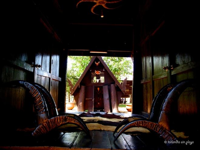 Casas de madera Casa negra