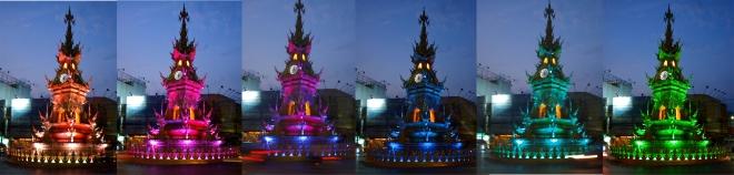 show del reloj en Chiang Rai