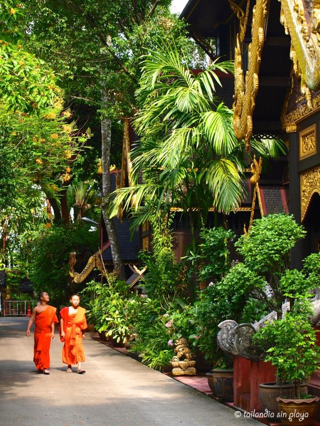 Exterior del Wat Phra Kaew Chiang rai
