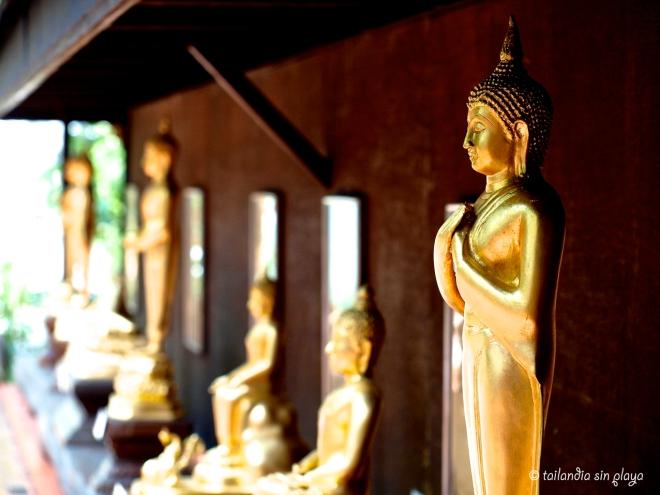 Budas en el templo Wat Phra Kaew