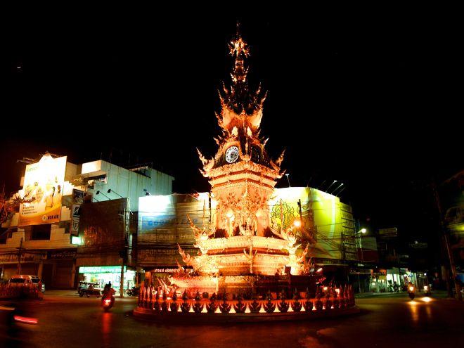 Reloj en Chiang Rai