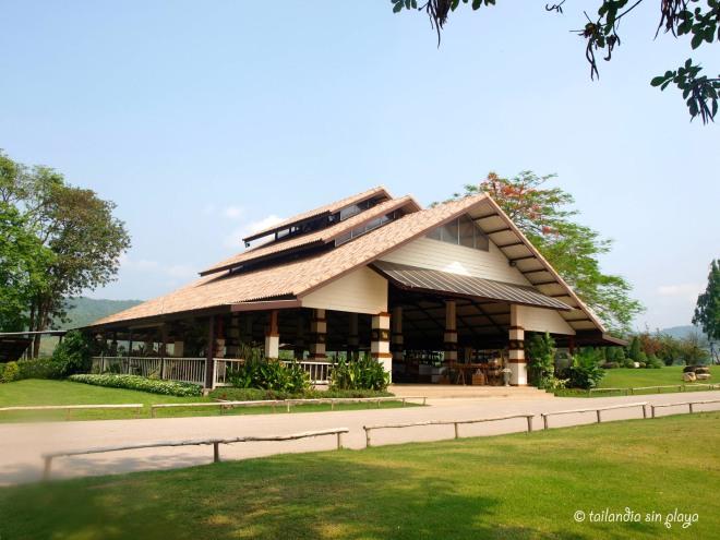 Casa de recepción Singha Park Chiang Rai