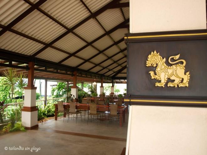 Singha Park restaurante Chiang rai